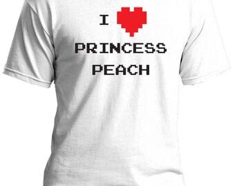 I Heart Princess Peach