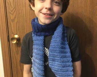 Crochet Winter Scarf-child
