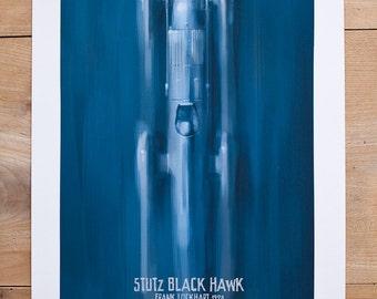 1928 Frank Lockhart - Stutz Black Hawk print