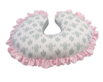 Marcy Boppy Cover Pink Gray