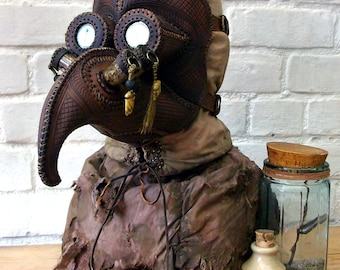 "Plague Doctor mask ""Terrowin"""