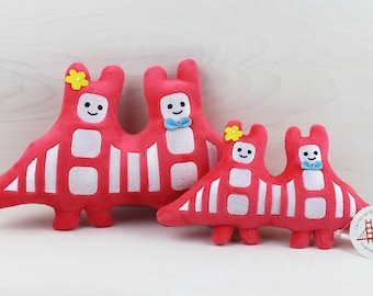 Golden Gate Bridge Plush Toy