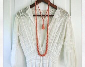 1930s Deco Celluloid Necklace Set