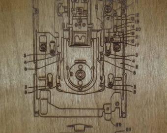 Laser Engraved Floppy Disk Patent