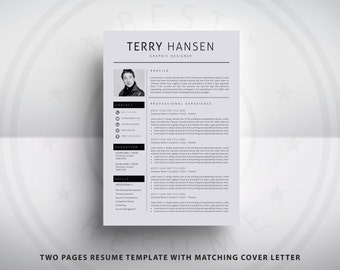 Thoughtfully Designed ResumeCV Templates for MS Word by A1RESUME