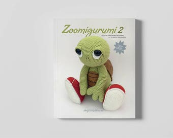15 animal patterns. Amigurumi PDF book Zoomigurumi 2