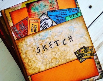Sketch Journal with Unlined Pages