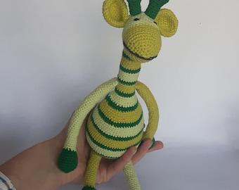 Crochet Giraffe, Amigurumi Giraffe, Stuffed Giraffe