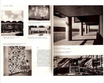 SCHOOLHOUSE When Your Neighborhood Needs a School 1958 Mid Century Modern architecture book