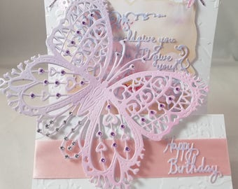 Butterly Birthday Card