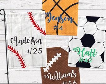 You DESIGN! Custom Sports Garden Flags