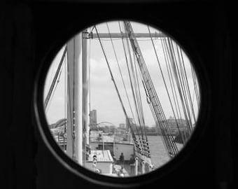 Porthole Glenlee - Original Signed Fine Art Photograph