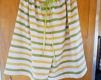Upcycled Vintage Pillowcase Jammies/Lounge Shorts to fit Woman Small - 2X