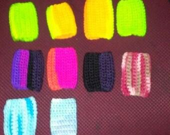 Freezie holders, new neons! crochet