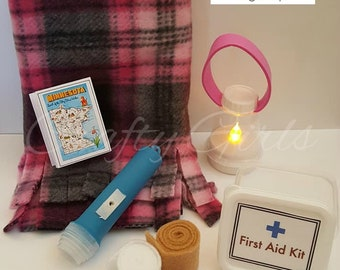 18 inch doll Camping Lantern Accessories Set