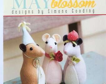 May Blossom Pickle Mouse MB032 Felt Mouse Pattern