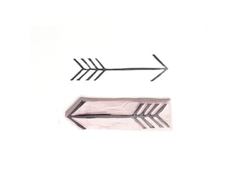 Arrow Rubber Stamp | 006039