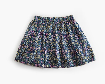 Paradise organic cotton popline skirt (GOTS certified fabric)