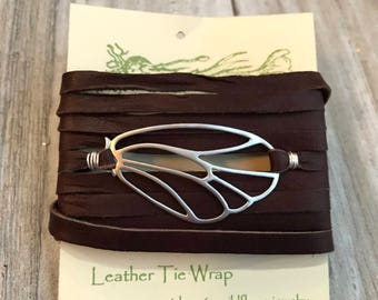 Gemstone Leather Convertible Wrap