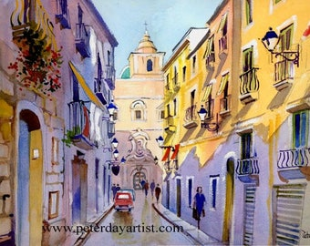 Tripani Old Town, Sicily
