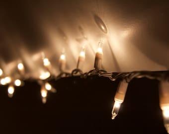 Christmas Lights Light Up the Darkness