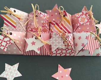 30 boxes favors for wedding or baptism - my NEW star!