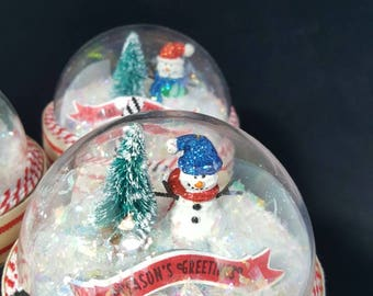 Mason Jar Gift Container--Handmade Winter/Holiday Mason Gift Jar
