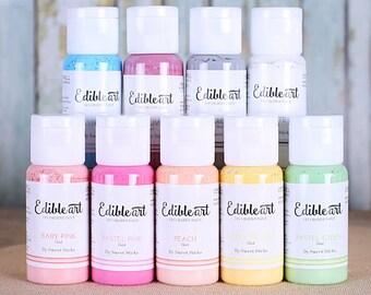 Pastel Edible Art Paint Set, Pastel Edible Paint, Pastel Food Paint, Cookie Paint, Cake Paint, Chocolate Paint, Frosting Paint, Icing Paint