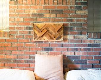 Reclaimed Cedar, Walnut & Curly Maple Wall Decor