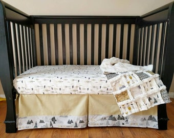 Adventure Awaits Crib Bedding