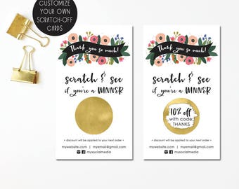 Add on gold stickers scratch off stickers scratch off customized scratch off cards business cards promotional card small business hand illustrated colourmoves