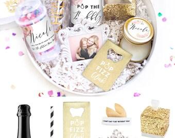 Will You Be My Bridesmaid Gift - Bridesmaid Proposal Box Set - Maid of Honor Proposal Box - Bridesmaid Thank You Box - Bridesmaids Proposal