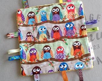 Plush OWL tags