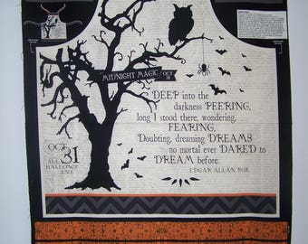 Something Wicked Collection-Apron Panel