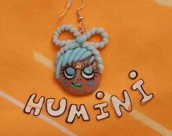Humini -Earring (Moody Mascots)