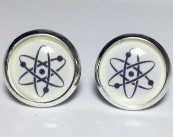 Atom Molecule Science Earrings Chemistry Neuroscience Biology