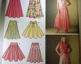 Simplicity 4188 flared skirt pattern size 8-16 NEW