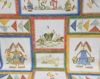 Northcott Quilt Fabric Panel - Is It Spring Yet - Designer Sharon Reynolds - Tenderberry Stitches