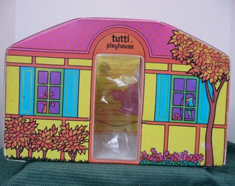 Doll Playhouse forTutti, vinyl case,