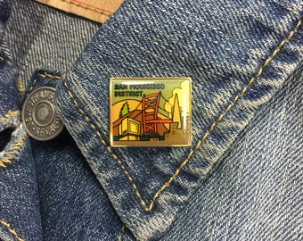 San Fransisco District Lapel Pin (stock# 889)
