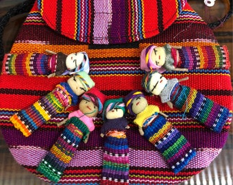 Worry doll purse