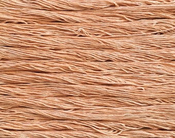 Hand dyed embroidery floss | natural dyed | clementine orange | embroidery thread | stranded cotton | vegan | eco friendly