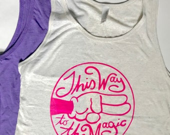 This Way to the Magic - Unisex Tank - Give Kids the World Fundraiser