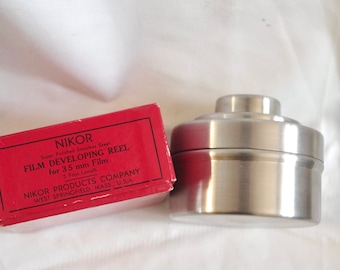 Nikor Film Developing tank and loader vintage 1970's