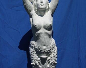 U-Paint Large Mermaid Figurehead