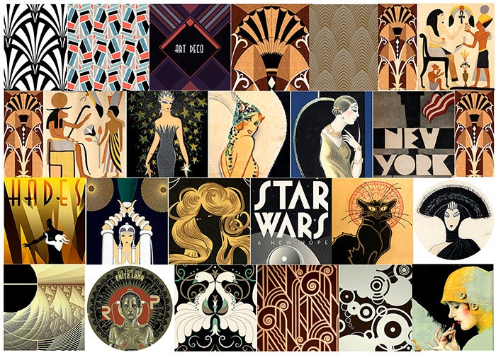 Art Deco Design Etsy