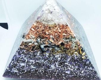 Pyramid led 13.5x13.5 cm sacred geometry
