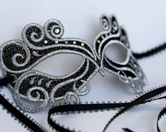 lace mask, masquerade mask, fit for prom nights or wedding celebrations