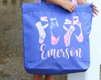 Ballet Bag - Dance Bag - Personalized Ballet Bag - Ballet Tote Bag - Ballerina Dance Bag - Personalized Dance Bag - Ballerina Bag - Dance