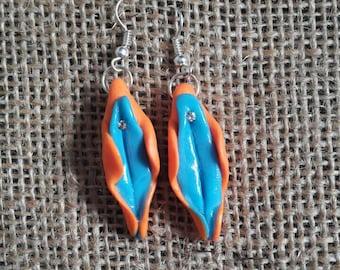 Vulva (vagina) earrings